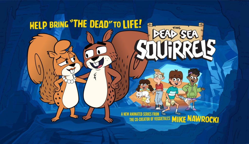 "VeggieTales Co-Creator Mike Nawrocki to Launch New Animated Series ""The Dead Sea Squirrels"""